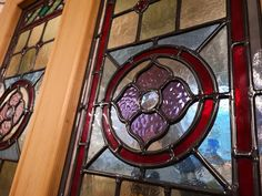 Stained glass windows   Light Leaded Designs   Rossendale Victorian Stained Glass Panels, Modern Stained Glass, Stained Glass Door, Making Stained Glass, Stained Glass Designs, Stained Glass Patterns, Leaded Glass, Glass Doors, Window Maker