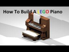 ▶ How To Build A Lego Piano Custom Moc Instructions - YouTube