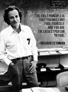 Richard Feynman (1918 - 1988) was one of the greatest scientific orators of the 20th century | Ever the master showman, he used storytelling elements to simplify theoretical physics and connect with his students
