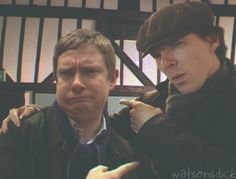 "Look who just discovered Johnlock fanfiction...Martin: ""Wait, you think I'd do HIM?"" Ben: ""I only might do him. It's a big MIGHT."""