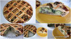 by Acasa Colt de Rai - Broccoli and mushroom pie, with a twist of blue cheese and Grana Padana.