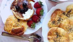 Só leva ovos, queijo, sal e sementes. É a opção ideal para quem está de dieta e não consegue deixar de comer pão. A receita é da blogger Luísa Fortes da Cunha.