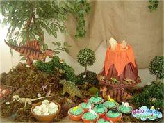 Foto festa-tema-dinossauros-9 - Decoração de Festa Infantil