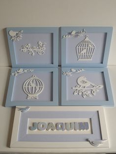 Baby Wall Decor, Nursery Decor, Baby Crafts, Diy And Crafts, Wood Crafts, Paper Crafts, Baby Frame, Baby Kit, Projects To Try