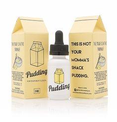 Pudding - The Milkman E Liquid #vape #vaping #eliquid
