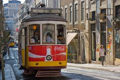 Get more for your Vacation Dollar: Visit Lisbon!: Getting around central Lisbon is easy on the tram