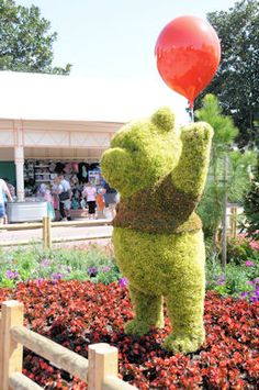 Winnie the Pooh.     Photo taken by M.Bugg.