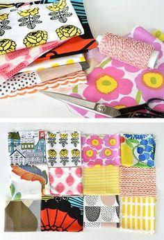 簡単なのに可愛い♪お気に入りの「端切れ(はぎれ)」で世界にひとつの小物を手作りしましょう♪ Diy And Crafts Sewing, Diy Crafts, Craft Patterns, Sewing Patterns, Ribbon Work, How To Make Diy, Fabric Art, Handicraft, Quilts