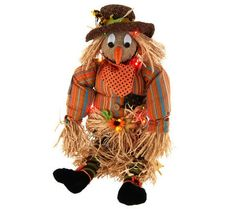 24 LED Battery Operated Hay & Stitching Character