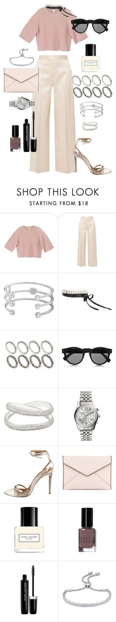 """""""Out of this world"""" by marissa-91 ❤ liked on Polyvore featuring The Row, Dyrberg/Kern, Fallon, ASOS, Illesteva, Maison Margiela, Michael Kors, Aquazzura, Rebecca Minkoff and Marc Jacobs"""