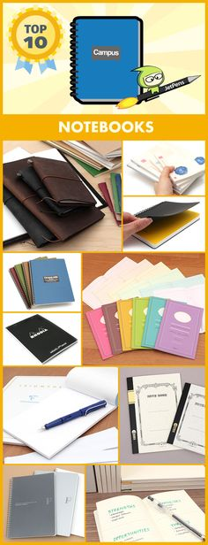 Our top-rated notebooks are ideal for storing your ideas and thoughts.