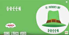 St Patrick's Day Song for Kids | G-R-E-E-N Saint Patrick's Song for Chi...