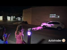 #Autotrader staged a #DrivenByStyle experience where color-sensing technology and projection mapping colored a car to match Wynwood's most fashionable. Compa...
