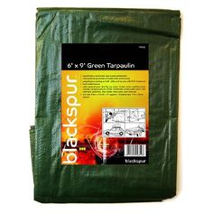 Green Tarpaulin Size 6ft x9ft