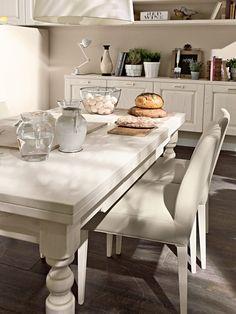Tavolo allungabile da cucina in legno VECCHIA TOSCANA by Cucine Lube ...