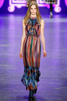 Anna Sui Pret A Porter Otoño Invierno 2016/2017 (New York Fashion Week)
