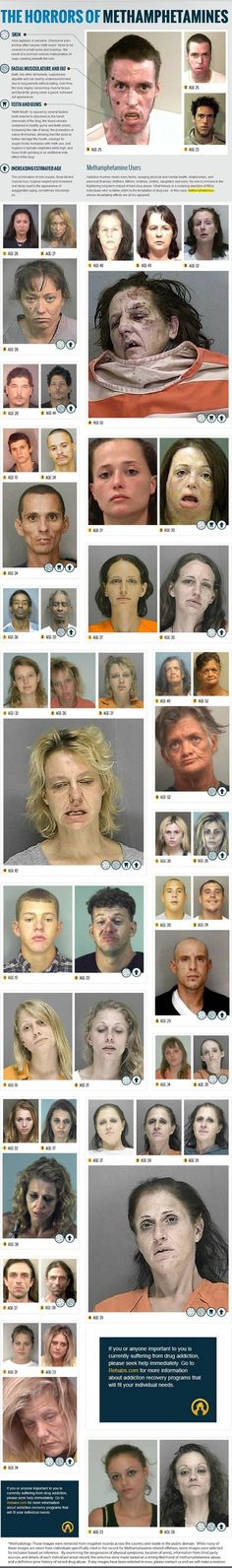 meth face horrors
