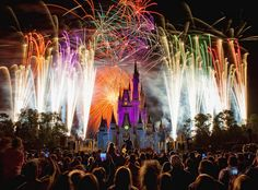 LIGHTS, CAMERA, ACTION AT THE MAGIC KINGDOM  Photograph by CORY DISBROW  Beautiful capture of 'Fireworks Friday' at the Magic Kingdom. The Magic Kingdom is one of four theme parks at the Walt Disney World Resort located near Orlando, Florida. It was the first park built at the resort and opened October 1, [...]