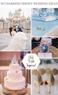 36 Charming Ideas For Disney Wedding ❤ So many couples want to add some magic to their Big bay, so that opt Disney wedding theme. If you are a fan of Disney, you will adore our Disney wedding ideas. #wedding #disney #disneytheme #disneywedding #decorations