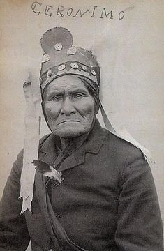 Geronimo: Exiled Into CelebrityAn actual photograph sold and signed by Geronimo (the soldiers at Fort Sill taught him how to sign his name).– Courtesy Robert G. McCubbin Collection –