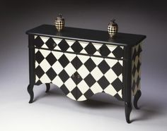 Butler Specialty Black & White Harlequin Chest - 6012214 by Butler Specialty, http://www.amazon.com/dp/B004Z92X7A/ref=cm_sw_r_pi_dp_rjIxrb17M2N8N