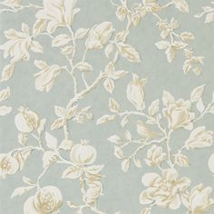 Sanderson - Traditional to contemporary, high quality designer fabrics and wallpapers | Products | British/UK Fabric and Wallpapers | Magnolia & Pomegranate (DWOW215724) | Woodland Walk Wallpapers