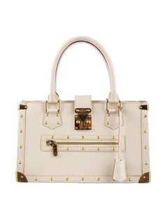 b6afcee513 Iconic Louis Vuitton White Suhali