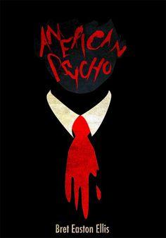 Alternative Book Cover:  American Psycho by Bret Easton Ellis