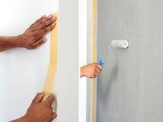 Pintando a casa sozinho: 21 truques que irão facilitar sua vida Painting On Wood, Door Handles, Projects To Try, Interior Decorating, Crafts, Diy Wood, Nova, Lovers, Home Decor