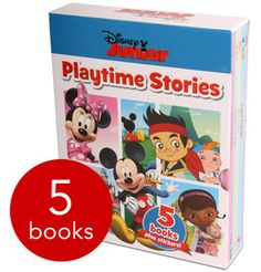 Disney Junior Playtime Stories - 5 Books - Collection - 9781472351906