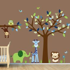 Ode colorée: Tableau chambre bébé