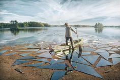 Erik Johansson kan skabe nye verdener med et kamera og et billedredigeringsprogram. Se hans billeder, og få hans tips her.