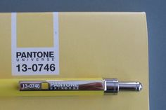 Dave's Mechanical Pencils: Pantone Pencil and Notepad