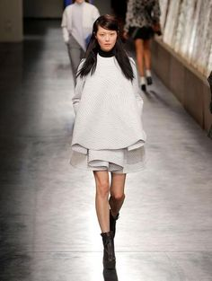 Opening Ceremony Fall 2014: Knits, Coats, and Chocolate-Covered Walls | StyleCaster