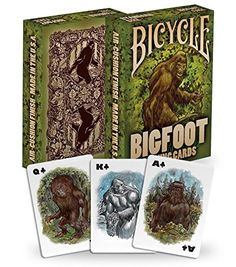 Standard Playing Card Decks - Bicycle Bigfoot Playing Cards -- Click image to review more details.