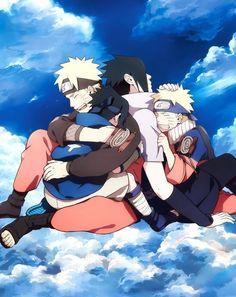 Yaoi images of Naruto and Sasuke (Narusasu / Sasunaru) - Images 2 - Wattpad - Online Manga Naruto And Sasuke, Naruto Shippuden Sasuke, Sasuke Sakura, Anime Naruto, Naruto Fan Art, Naruto Cute, Otaku Anime, Gaara, Hinata