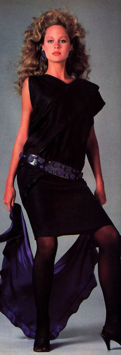 Gianni Versace, American Vogue, March 1982.
