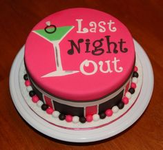 I think I'm going to attempt this cake for my cousins bachelorette party :)