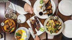 Charcoal Grilled Chicken, Crispy Pata, Pork Hock, Pancit, Rice Flour, Cake Toppings, Places To Eat, Palak Paneer, Cobb Salad