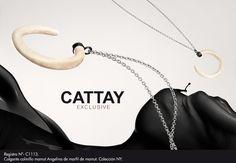 Cattay Exclusive.  Joyas diseñadas con marfil de mamut con más de 15.000 años de antiguedad.