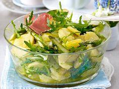 Unser beliebtes Rezept für Kartoffel-Spargelsalat mit Walnuss-Dressing und mehr als 55.000 weitere kostenlose Rezepte auf LECKER.de.
