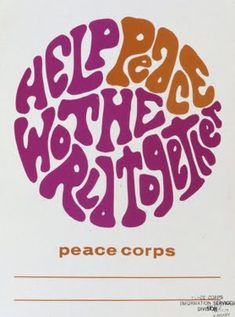 ALL MY EYES: Peace Corps Posters- I want framed prints!!