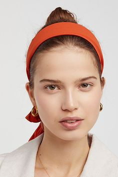 Slide View Tie Back Headband Winter Layering Outfits, Tie Backs, Hats For Women, Free People, Chiffon, Women's Hats, Detail, Style, Classic