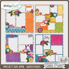 Project 2015 April - QuickPages from Designs By Connie Prince