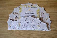 Tutorial - Convite de papel rendado 03