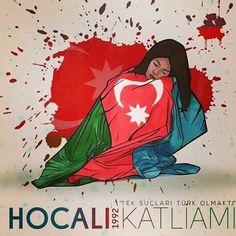"""ERMENİLER TARAFINDAN HOCALI'DAKİ SOYDAŞLARIMIZA YAPILAN KATLİAMI UNUTMADIK,UNUTTURMAYACAĞIZ"" Pencil Drawings, Art Drawings, Azerbaijan Flag, Turkish People, New Things To Learn, Galaxy Wallpaper, Countries Of The World, Kittens Cutest, Game Art"