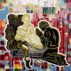 """Saatchi Art Artist Ralf Schmidt; Painting, """"Anbetung"""" #art"""
