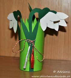 Hóvirágok kreatívan