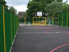 MUGA for Primary Schools, Multi-Use Games Areas, AMV Playgrounds.