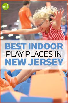 It may be too cold for the playground, but there are plenty of spots in NJ where kids can climb and slide all winter long. From giant mazes to wall-to-wall trampolines, check out these great places for indoor play.